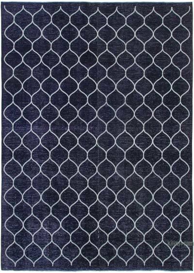 Alfombra Turca bordada sobre teñida vintage - 286 cm x 396 cm