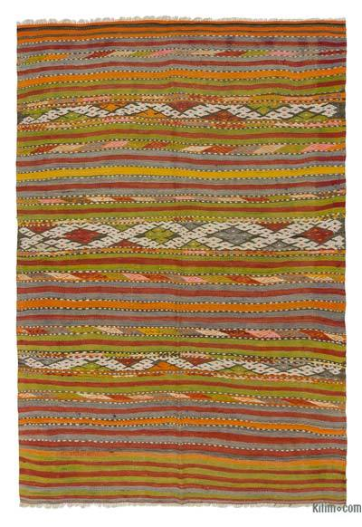 Alfombra Vintage Denizli Kilim - 145 cm x 215 cm