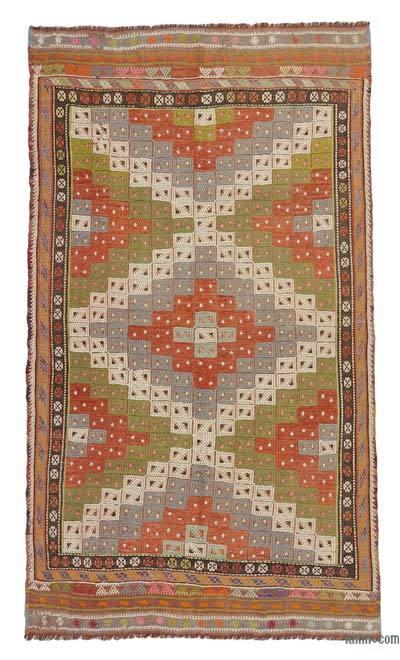 Alfombra Vintage Fethiye Kilim - 167 cm x 284 cm