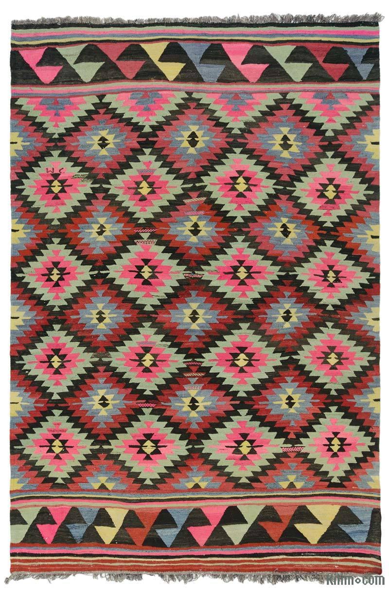 Çok Renkli Anadolu Kilimi - 208 cm x 311 cm - K0042924