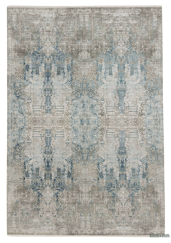 K0043225 Abstract Bamboo Silk Area Rug
