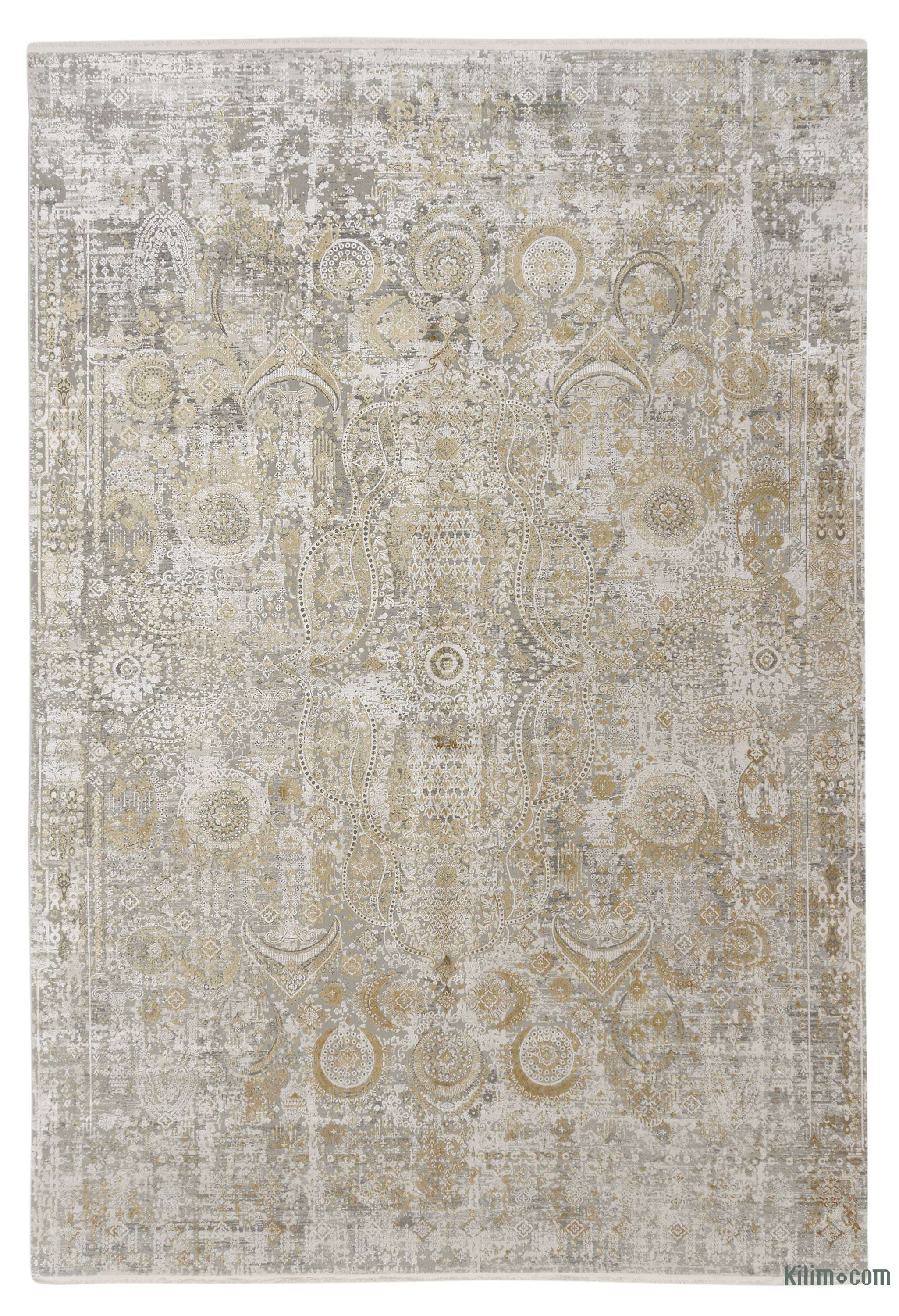K0043226 Abstract Bamboo Silk Area Rug