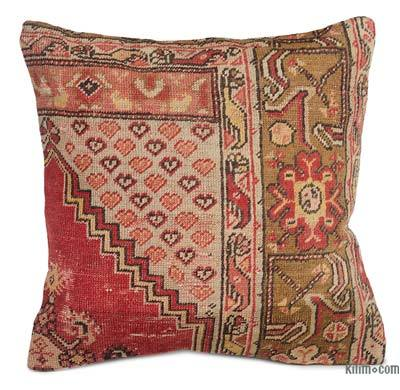 "Turkish Pillow Cover - 1' 8"" x 1' 8"" (20 in. x 20 in.)"