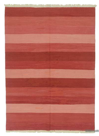 "New Handwoven Turkish Kilim Rug - 5' 5"" x 7' 5"" (65 in. x 89 in.)"