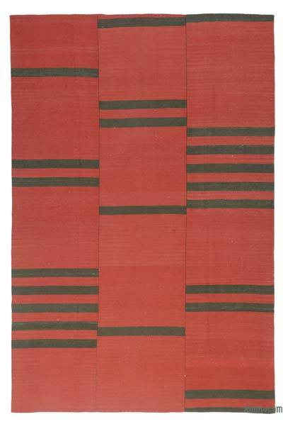 "New Handwoven Turkish Kilim Rug - 8' 3"" x 12' 7"" (99 in. x 151 in.)"