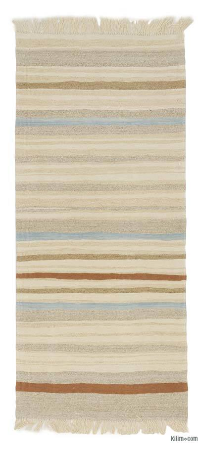 "New Turkish Kilim Runner - 3'1"" x 6'11"" (37 in. x 83 in.)"