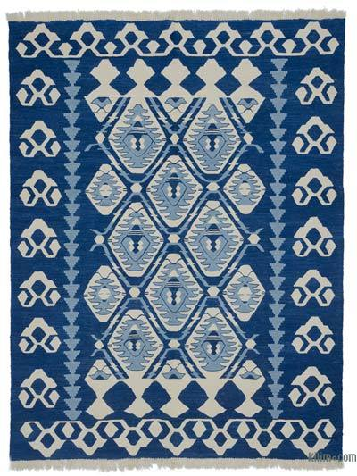 "New Handwoven Turkish Kilim Rug - 6'1"" x 7'11"" (73 in. x 95 in.)"