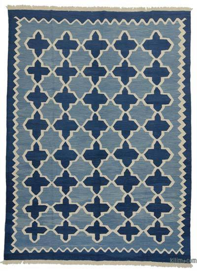 "New Handwoven Turkish Kilim Rug - 8' 4"" x 11' 4"" (100 in. x 136 in.)"