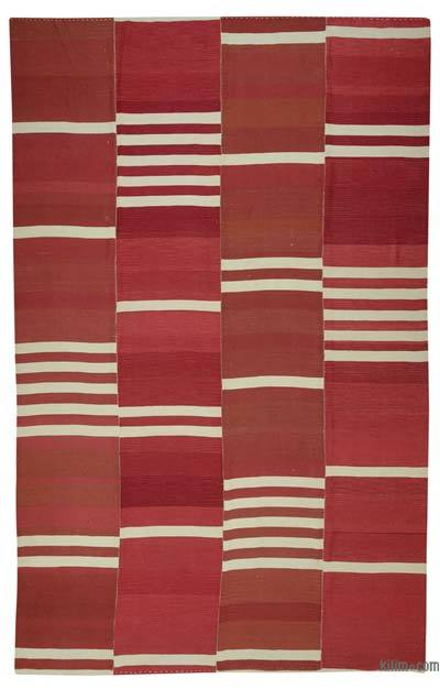 "New Handwoven Turkish Kilim Rug - 10' 10"" x 16' 10"" (130 in. x 202 in.)"