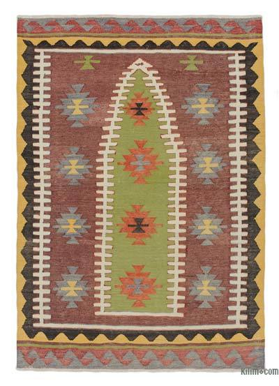 Alfombra Vintage Konya Kilim  - 90 cm x 129 cm