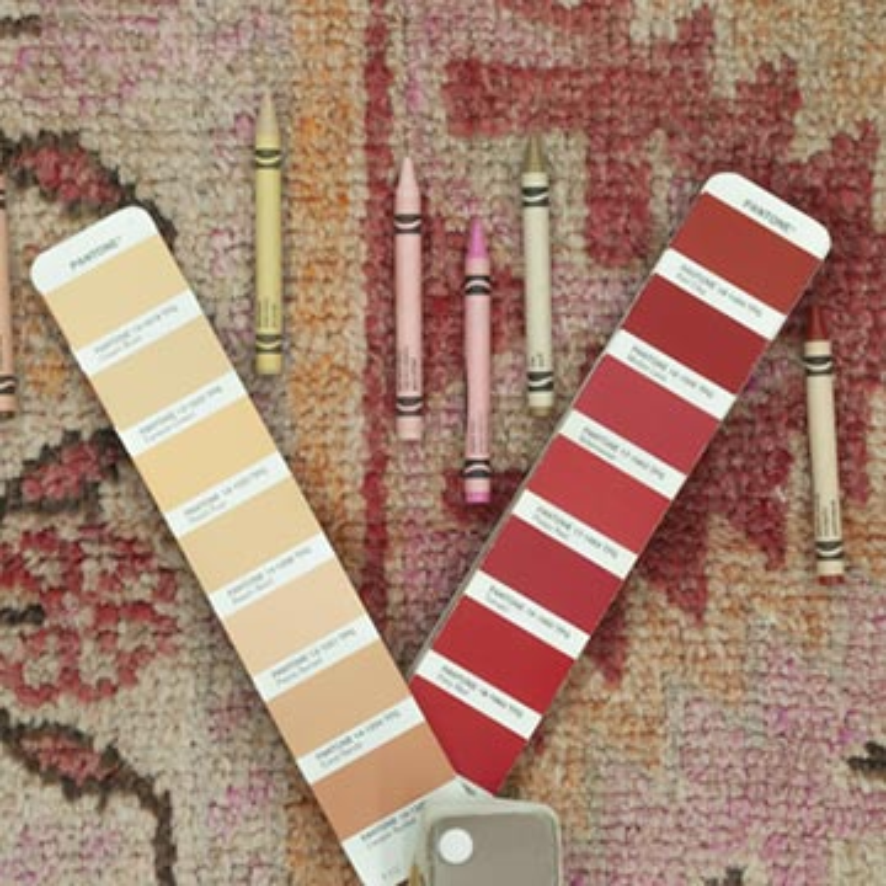 "Multicolor Vintage Turkish Runner Rug - 3'  x 12' 8"" (36 in. x 152 in.) - K0043427"