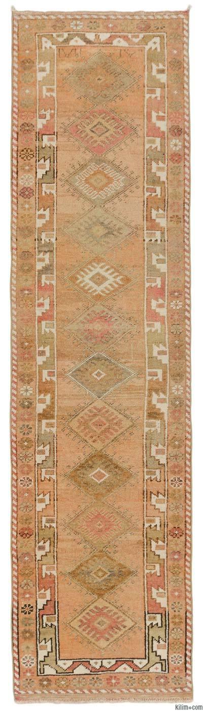 Alfombra Turca Vintage de pasillo - 85 cm x 334 cm