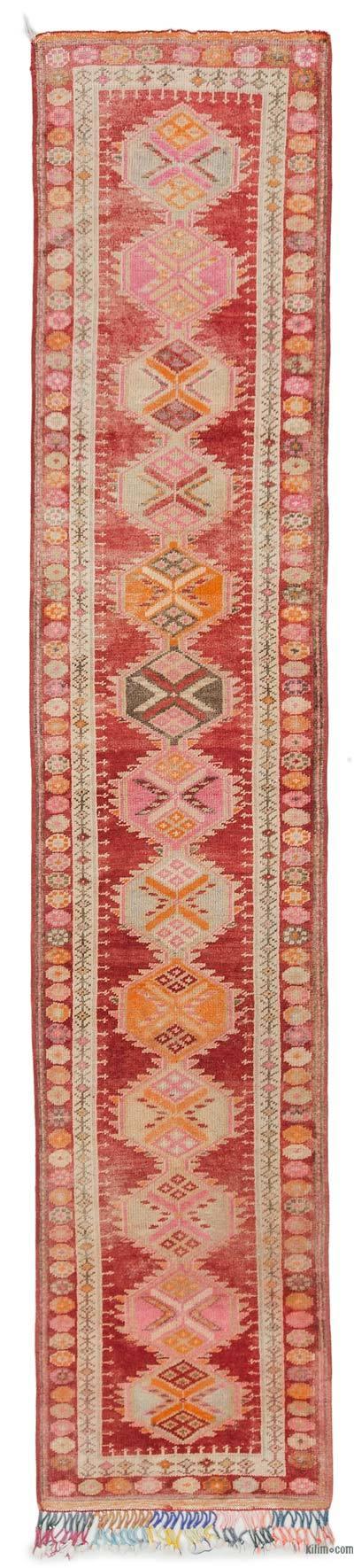 Vintage Turkish Runner Rug