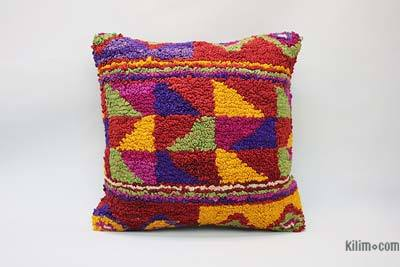 "Tulu Pillow Cover - 1' 8"" x 1' 8"" (20 in. x 20 in.)"