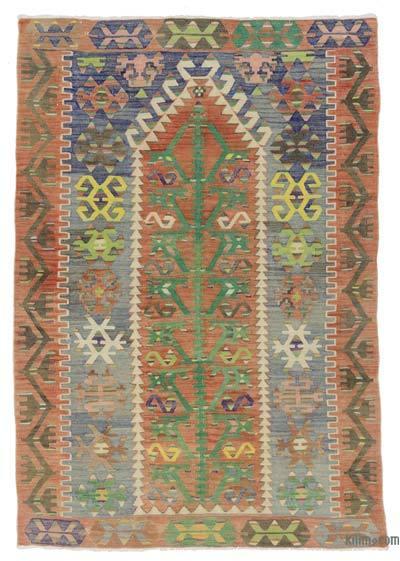 Multicolor Alfombra Vintage Esme Kilim - 115 cm x 164 cm
