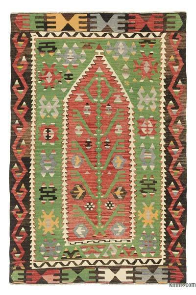 Multicolor Alfombra Vintage Esme Kilim - 98 cm x 149 cm
