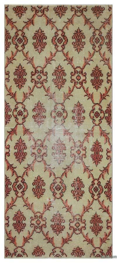 "Turkish Vintage Area Rug - 2' 6"" x 5' 9"" (30 in. x 69 in.)"