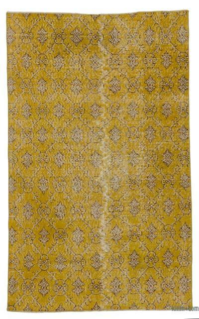 El Dokuma Vintage Halı - 118 cm x 190 cm