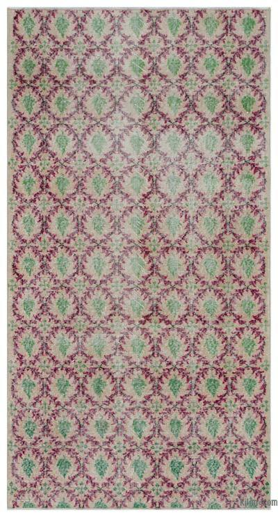 "Turkish Vintage Area Rug - 3' 7"" x 6' 10"" (43 in. x 82 in.)"