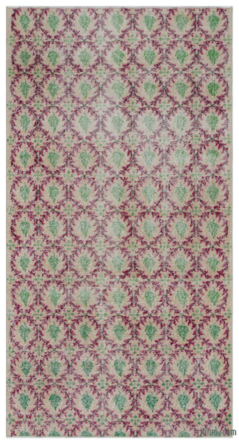 """Vintage Turkish Hand-Knotted Rug - 3' 7"""" x 6' 10"""" (43 in. x 82 in.) - K0043725"""