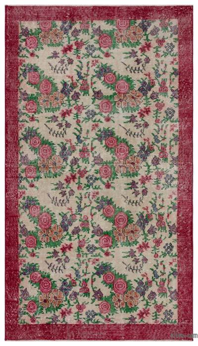 "Turkish Vintage Area Rug - 3' 11"" x 6' 11"" (47 in. x 83 in.)"