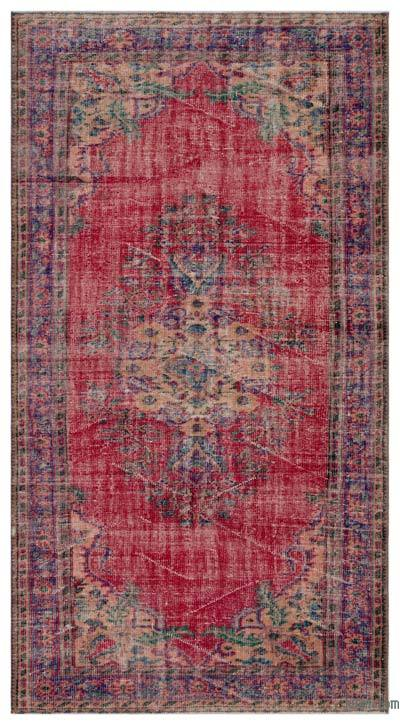 "Turkish Vintage Area Rug - 5' 3"" x 9' 9"" (63 in. x 117 in.)"