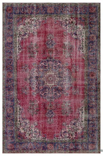 "Turkish Vintage Area Rug - 6' x 9'2"" (72 in. x 110 in.)"