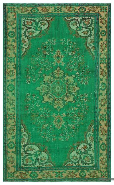 "Turkish Vintage Area Rug - 5'7"" x 9'1"" (67 in. x 109 in.)"