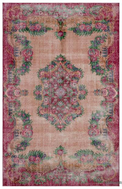 "Turkish Vintage Area Rug - 6'10"" x 10'8"" (82 in. x 128 in.)"
