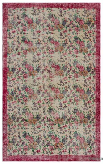 "Turkish Vintage Area Rug - 6' x 9'7"" (72 in. x 115 in.)"