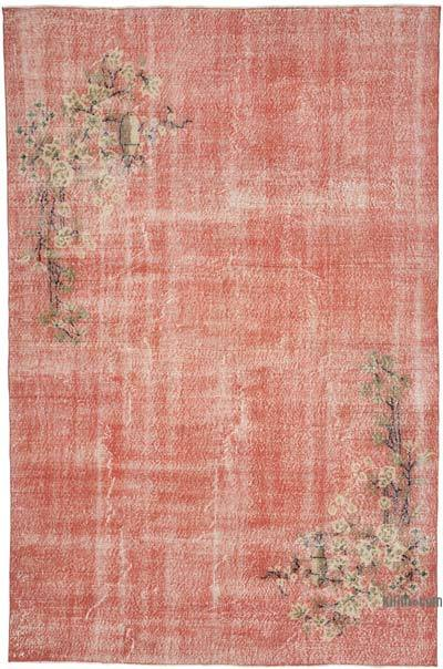 """Vintage Turkish Hand-Knotted Rug - 6' 8"""" x 10' 3"""" (80 in. x 123 in.)"""