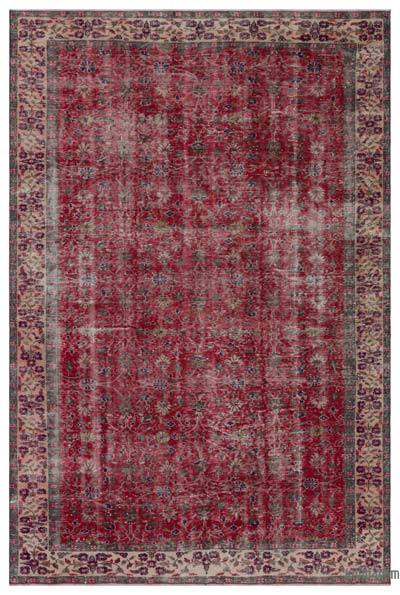 "Turkish Vintage Area Rug - 6'3"" x 9'4"" (75 in. x 112 in.)"