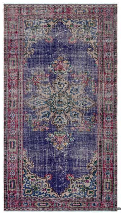 "Turkish Vintage Area Rug - 4'10"" x 8'10"" (58 in. x 106 in.)"
