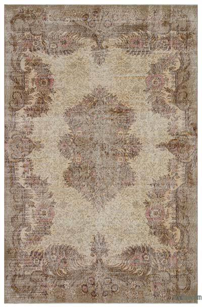 """Turkish Vintage Area Rug - 6' 11"""" x 10' 7"""" (83 in. x 127 in.)"""