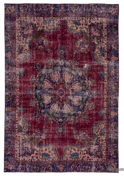 """Turkish Vintage Area Rug - 6' 1"""" x 8' 10"""" (73 in. x 106 in.)"""