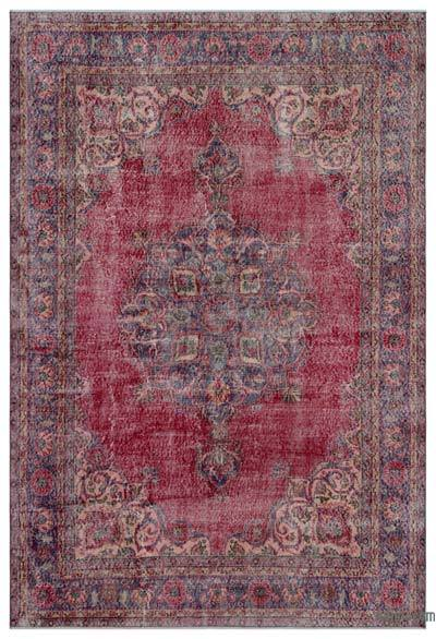 """Turkish Vintage Area Rug - 6' 6"""" x 9' 6"""" (78 in. x 114 in.)"""