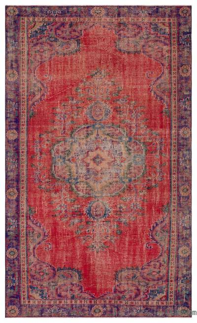 "Turkish Vintage Area Rug - 5' 6"" x 9' 1"" (66 in. x 109 in.)"