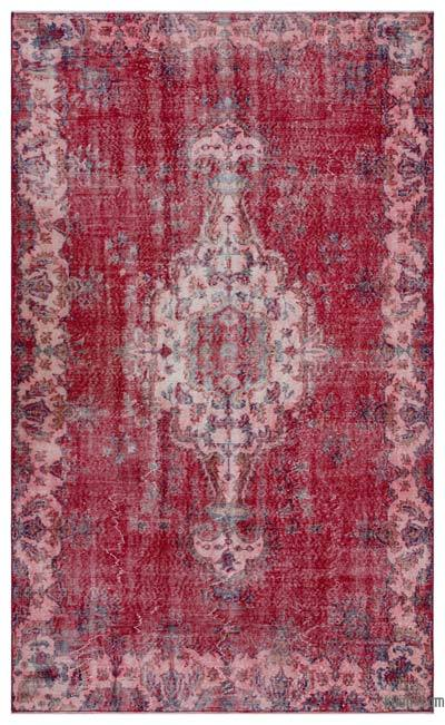 "Turkish Vintage Area Rug - 5'9"" x 9'5"" (69 in. x 113 in.)"