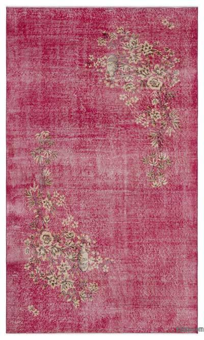El Dokuma Vintage Halı - 147 cm x 246 cm