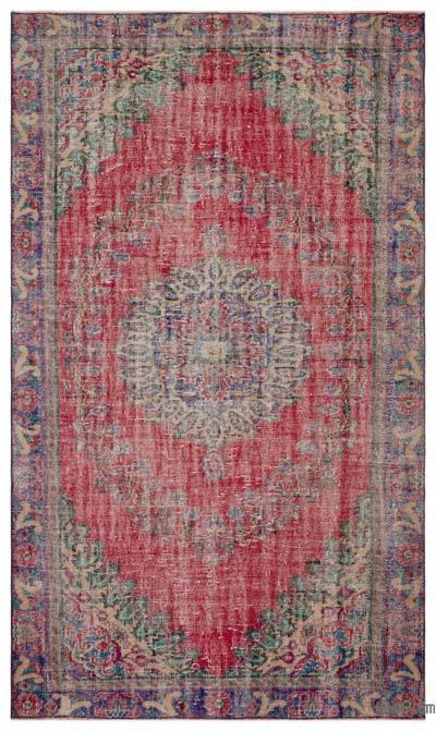 El Dokuma Vintage Halı - 178 cm x 300 cm
