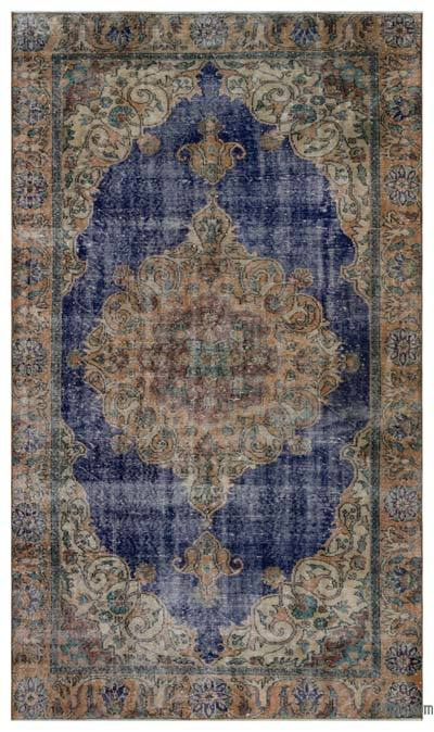 "Turkish Vintage Area Rug - 5' 7"" x 9' 6"" (67 in. x 114 in.)"