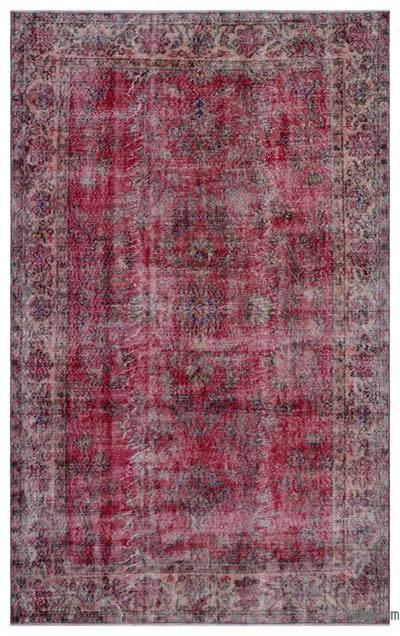 "Turkish Vintage Area Rug - 5'8"" x 9'1"" (68 in. x 109 in.)"