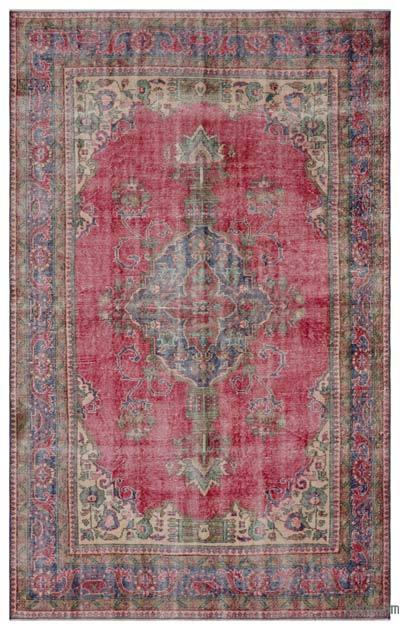 El Dokuma Vintage Halı - 188 cm x 301 cm