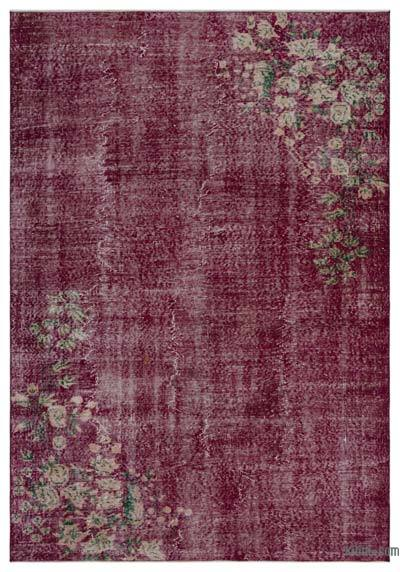 """Vintage Turkish Hand-Knotted Rug - 5' 11"""" x 8' 5"""" (71 in. x 101 in.)"""