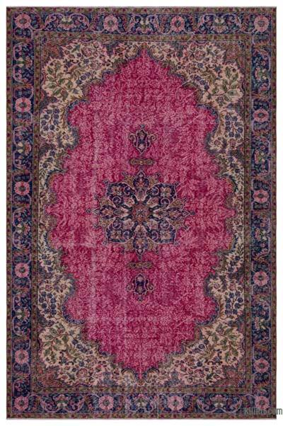 "Turkish Vintage Area Rug - 6'4"" x 9'10"" (76 in. x 118 in.)"