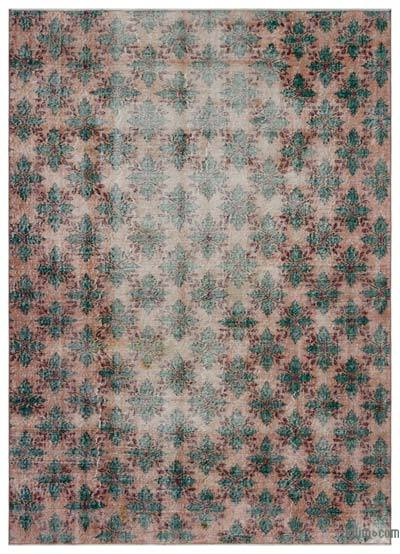 "Turkish Vintage Area Rug - 6'8"" x 9'2"" (80 in. x 110 in.)"