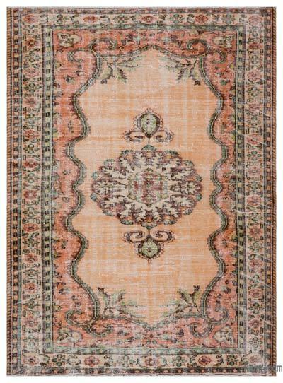 El Dokuma Vintage Halı - 187 cm x 257 cm