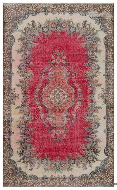 """Turkish Vintage Area Rug - 5'11"""" x 9'6"""" (71 in. x 114 in.)"""