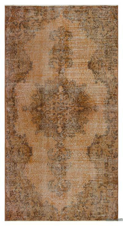"Over-dyed Turkish Vintage Rug - 3' 7"" x 6' 11"" (43 in. x 83 in.)"