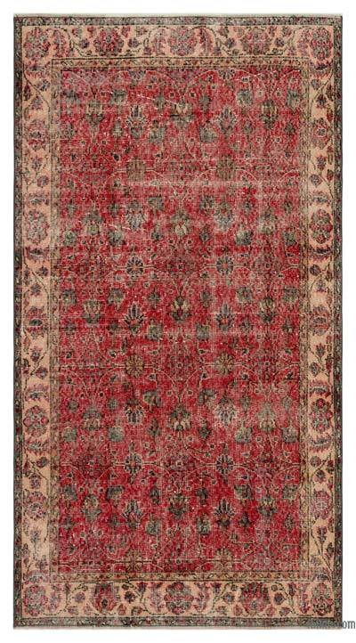 "Turkish Vintage Area Rug - 3'8"" x 6'9"" (44 in. x 81 in.)"